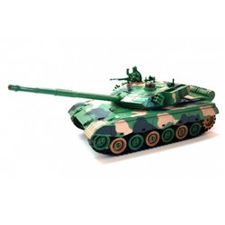 1/28 Green Camouflage Tank with 4,8v NiCd Battery