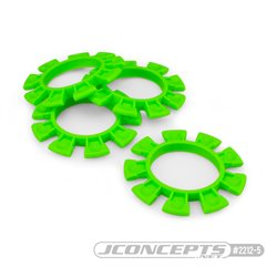 JConcepts - Satellite tire gluing rubber bands - green - fits 1/10th, SCT and 1/8th buggy