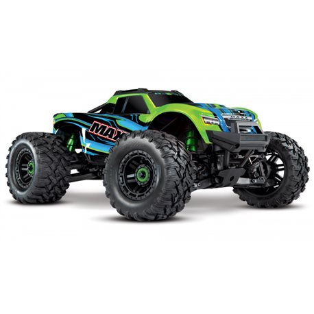 Maxx 4x4 1/10 RTR TQi Brushless TSM Green