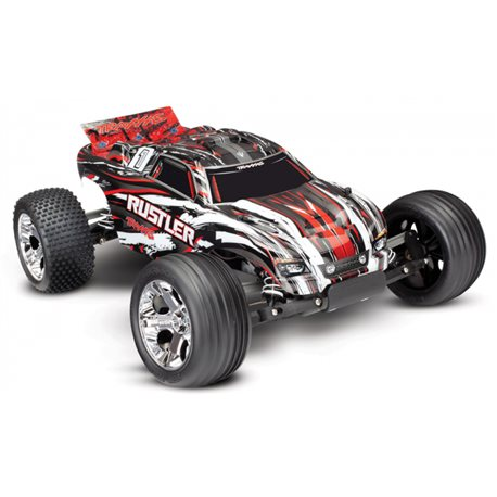 Rustler 2WD 1/10 RTR TQ RedX with Battery/Charger