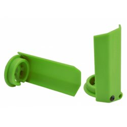 Shock Shaft Guards Green (2) X-Maxx