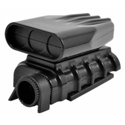Mock Intake & Blower Set Black
