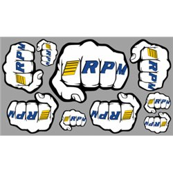 Decal Sheet Fist Logo RPM
