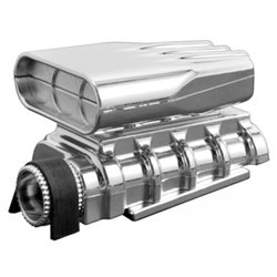Mock Intake & Blower Set Chrome