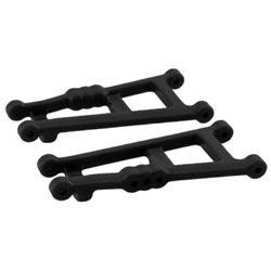 Suspension Arms Rear (Pair) Black Rustler, Stampede 2WD