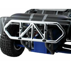 Bumper Rear Chrome Slash 2WD