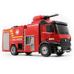 HUINA 1562 1:14 2.4GHZ 22-CH FIRE FIGHTING RC TRUCK W/ WATER SPRYING