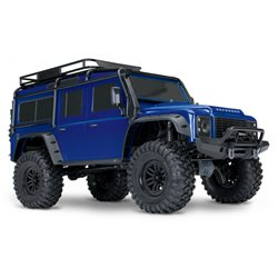 TRX-4 Scale & Trial Crawler Land Rover Defender Blue RTR