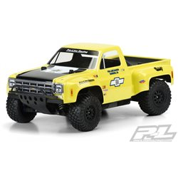 Body 1978 Chevy C-10 Race Truck SC Clear