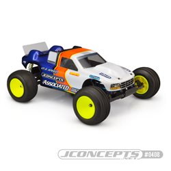 JConcepts - Team Associated RC10GT, gas truck II 96 authentic body, wide (1634)