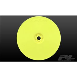 """Velocity 2.2"""" 4wd Front Yellow Wheels (2) for Xray XB4"""