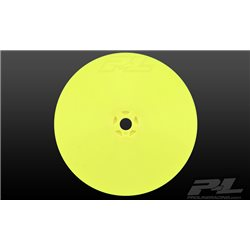"""Velocity 2.2"""" 4wd Front Yellow Wheels (2) for AE B64"""