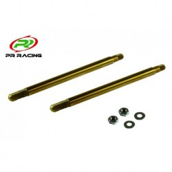 Rear Shock Shaft x2pcs(Ti 53 mm)