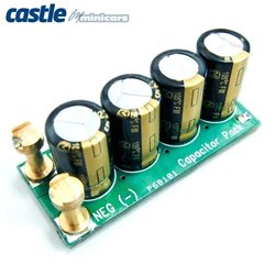 CASTLE CREATIONS CAPACITOR PACK, 12S MAX (50.0V), 1100UF
