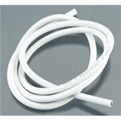 """WIRE, 36"""", 08 AWG, WHITE"""