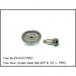 Crown Gear Set (43t & 13t ),Pro