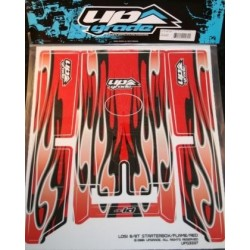 TEAM LOSI 8/8T STARTER BOX FLAME-RED