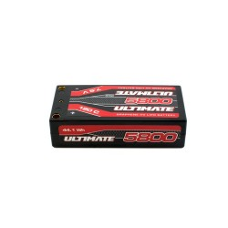 ULTIMATE GRAPHENE HV LiPo Shorty 5800 7,6V 120C 5mm Tubes